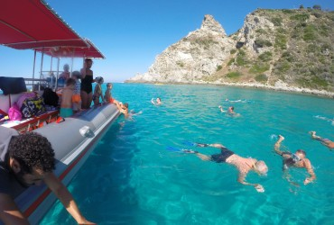 EXCURSION ALONG THE COAST TROPEA AND CAPO VATICANO